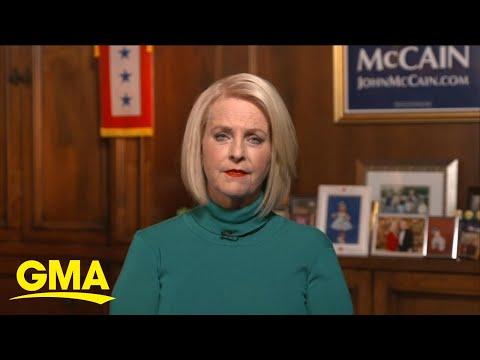Cindy McCain discusses Joe Biden endorsement l GMA