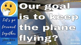 How to fly Trainer RC Plane for Beginners? - Apprentice RC Plane - Bix3 RC Plane (Bixler 3) Ep12