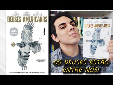 Resenha DEUSES AMERICANOS | Volume 1 | Sombras | Neil Gaiman