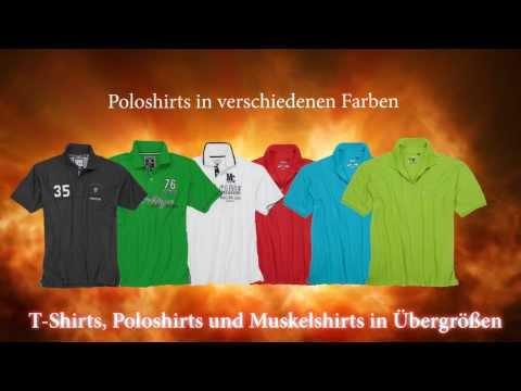T-Shirts und Polos in großen Größen für Männer