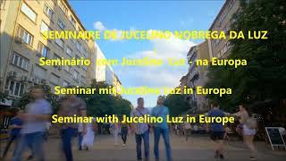 Conferência de Jucelino Luz na Europa   2019   -  breaking  News