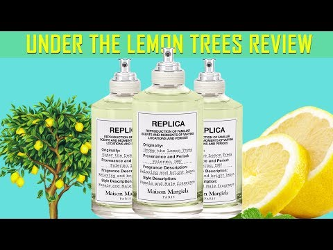 NEW MARTIN MARGIELA REPLICA UNDER THE LEMON TREES 🍋🌴 FRAGRANCE REVIEW | SEXY SUMMER CITRUS SCENT