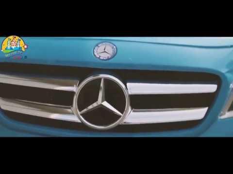 Электромобиль CHI LOK BO TOYS COMPANY Mercedes-Benz GLA-Class голубой
