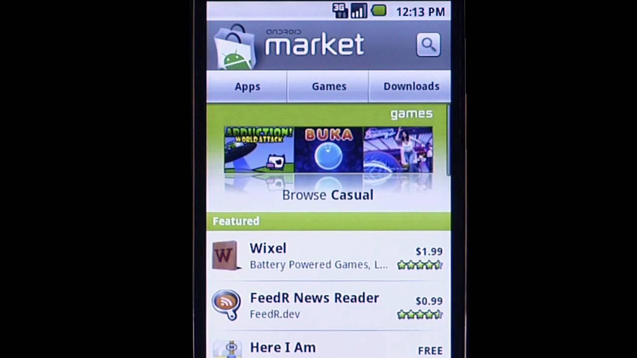 Android Market 1.6 Update Finally Brings App Screenshots