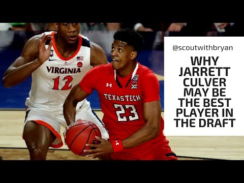 Why JARRETT CULVER May Be the BEST Player in the Draft