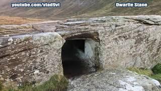 Dwarfie Stane tajemniczy megalityczny menhir z Orkadów-nagranie w j.rosyjskim