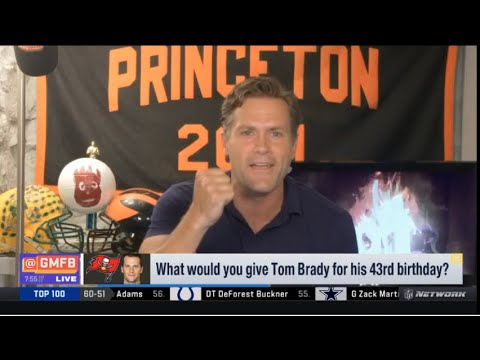 Kyle Brandt: turning 43 Tom Brady still play well?