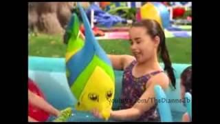 Gambar cover Selena Gomez and Demi Lovato singing on Barney!