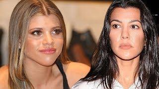 Kourtney Kardashian WON'T Stop Posting Pictures that Upset Sofia Richie!