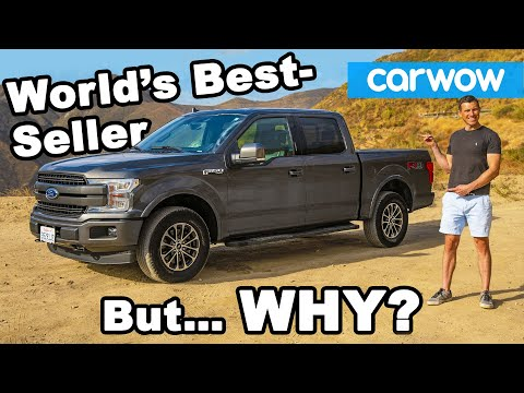 Why is THIS the best-selling 'car' in the world? FORD F-150 review