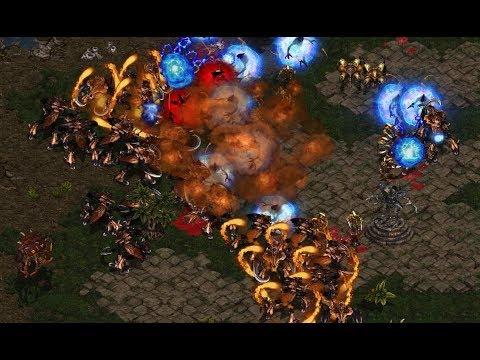 Terror (P) v ZergbOy (Z) on Fighting Spirit - StarCraft - Brood War REMASTERED