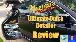 Review: Meguiar's Ultimate Quick Detailer