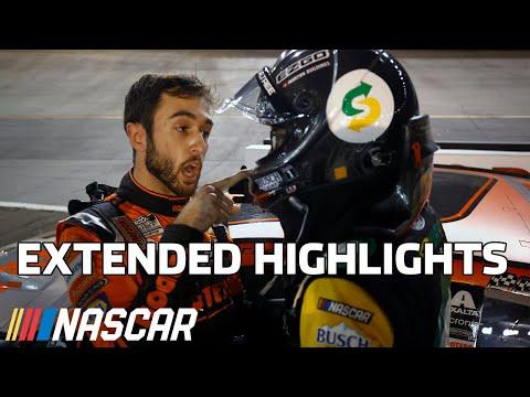 NASCAR NRA ナイトレース(ブリストル・モーター・スピードウェイ)ハイライト動画