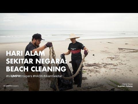 Hari Alam Sekitar : Beach Cleaning, UMP Holdings & Group