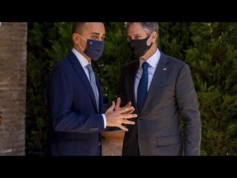 Ο Άντονι Μπλίνκεν στην Ιταλία – Σύνοδος Κορυφής υπουργών εξωτερικών της G20…