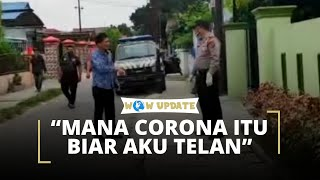 Anggota DPR Medan Mengamuk saat Melayat PDP Corona, 'Mana Corona Itu Biar Ku Telan'