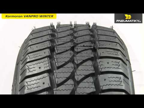 Youtube Kormoran VANPRO WINTER 195/60 R16 C 99/97 T Zimní