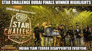 STAR CHALLENGE GLOBAL FINALS WINNER | TEAM TERROR HORRIBLE GAMEPLAY