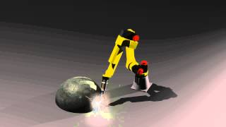 Arc Welder Animation -- E128 Homework Assignment