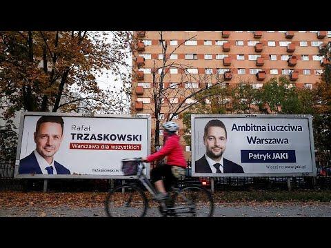 Kυριαρχία των φιλοευρωπαίων στη Βαρσοβία