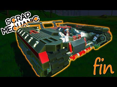 FORMULA TANK let's build #Fin SCRAP MECHANIC FR