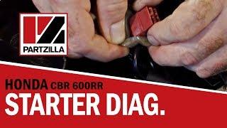 How to Diagnose Starter Problems on a Honda CBR 600 RR | Partzilla.com