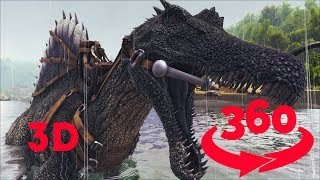 Jurassic Dinosaur    VR 360 in Stereo 3D