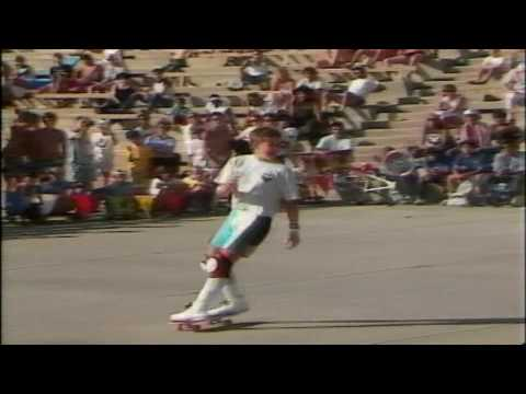Rodney Mullen - Freestyle Contest Oceanside 1986
