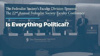 Click to play: Panel:  Is Everything Political?