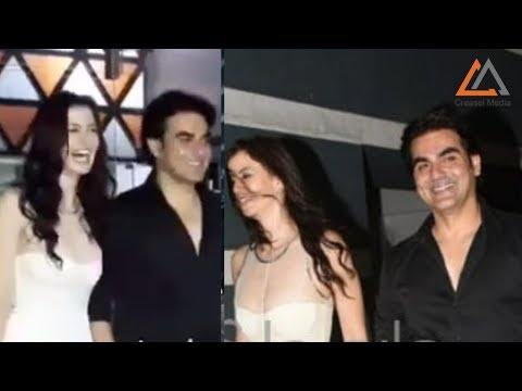 Arbaaz Khan & Giorgia Andriani Spotted Together At Sanjay Kapoor's Party - Looks So Happy Mp3