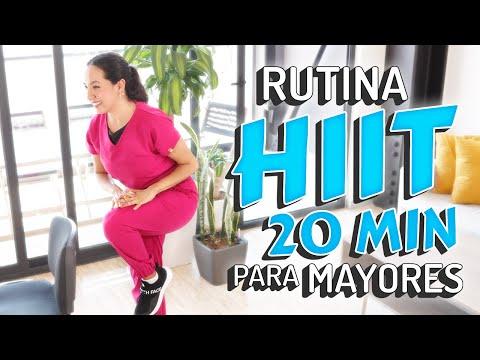 Ejercicios De Cardio De Alta Intensidad (HIIT) Para Adultos Mayores