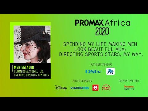 Promax AFR Webinar – Spending My Life Making Men Look Beautiful AKA: Directing Sports Stars, My Way.