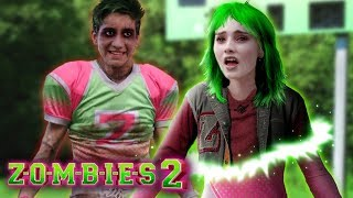 Disney Z-O-M-B-I-E-S 2: Addison turns into a Zombie! Did Zed bite her? 💚💗   Alice Bunny Edit!