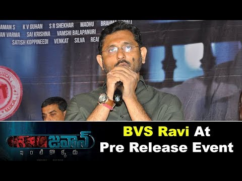 BVS Ravi At Jawaan Movie Pre Release Event