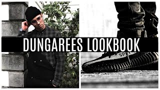 HOW TO STYLE DUNGAREES | Dungarees Lookbook Mens Fashion 2017