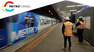 Testing High Capacity Signalling on the Metro Tunnel Project