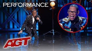 ALL of Greg Morton's AMAZING Voice Impersonations On AGT - America's Got Talent 2019
