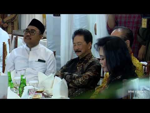 Presiden Hadiri Buka Puasa Bersama di Kediaman Ketua MPR, Jakarta, 10 Mei 2019