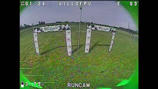 MV5X racing drone workout@Gace team FPV