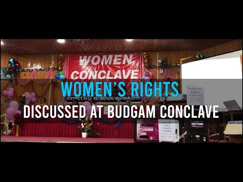Women's rights discussed at Budgam conclave