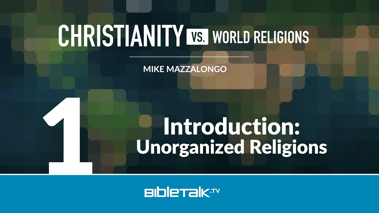 1. Introduction: Unorganized Religions