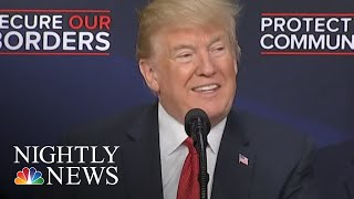 Trump Tells Republicans To Stop 'Wasting Their Time' On Immigration Legislation   NBC Nightly News