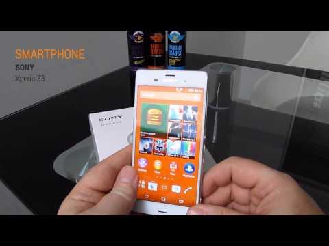 SONY Xperia Z3 Smartphone Hands On Test - Deutsch / German ►► notebooksbilliger.de