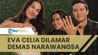 Rayakan Ultah Ke-29 Tahun, Eva Celia Dilamar Demas Narawangsa