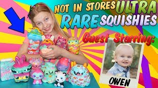 Most Rare Squishies in the WORLD! You Can't Find them ANYWHERE!!!
