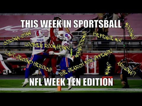 This Week in Sportsball: NFL Week Ten Edition (2020)