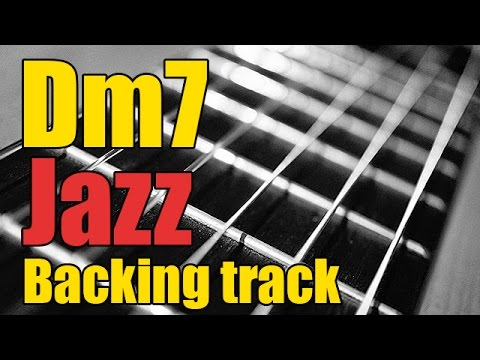 Guitar Jazz Backing Track in Dm7 | Minor Play-along