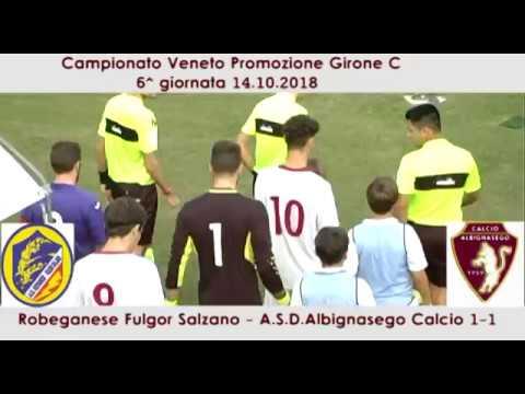 Preview video Robeganese Fulgor Salzano - A.S.D. Albignasego Calcio 1-1