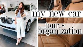 I Bought A NEW CAR!! Tour & Organization Tips *BMW X7*