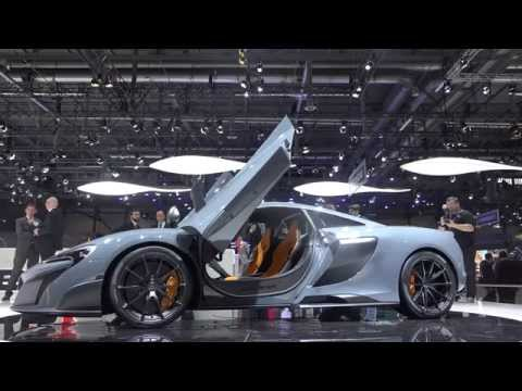 [4k] McLaren 675 LT 360 degress in Ultra HD 4k at Geneva 2015